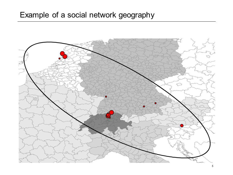 6 Size of network geometries