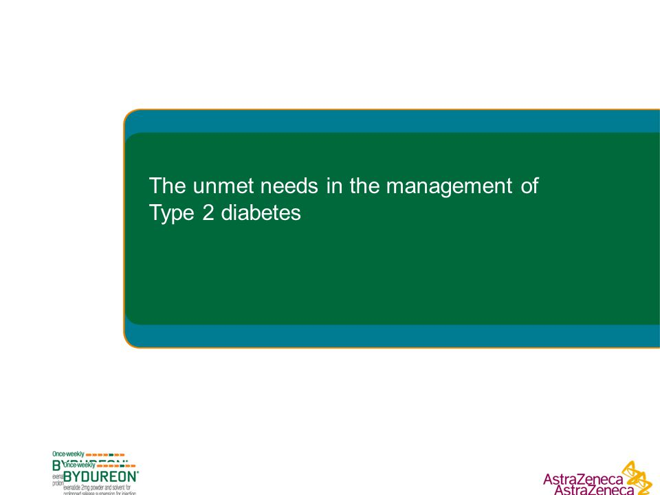 The unmet needs in the management of Type 2 diabetes