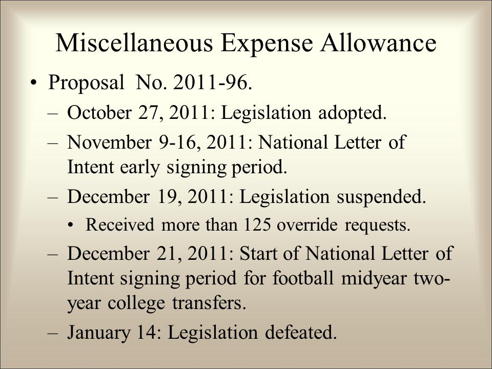 Proposal No.2011-96. –October 27, 2011: Legislation adopted.