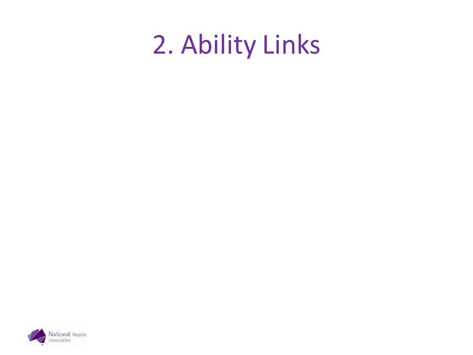 2. Ability Links