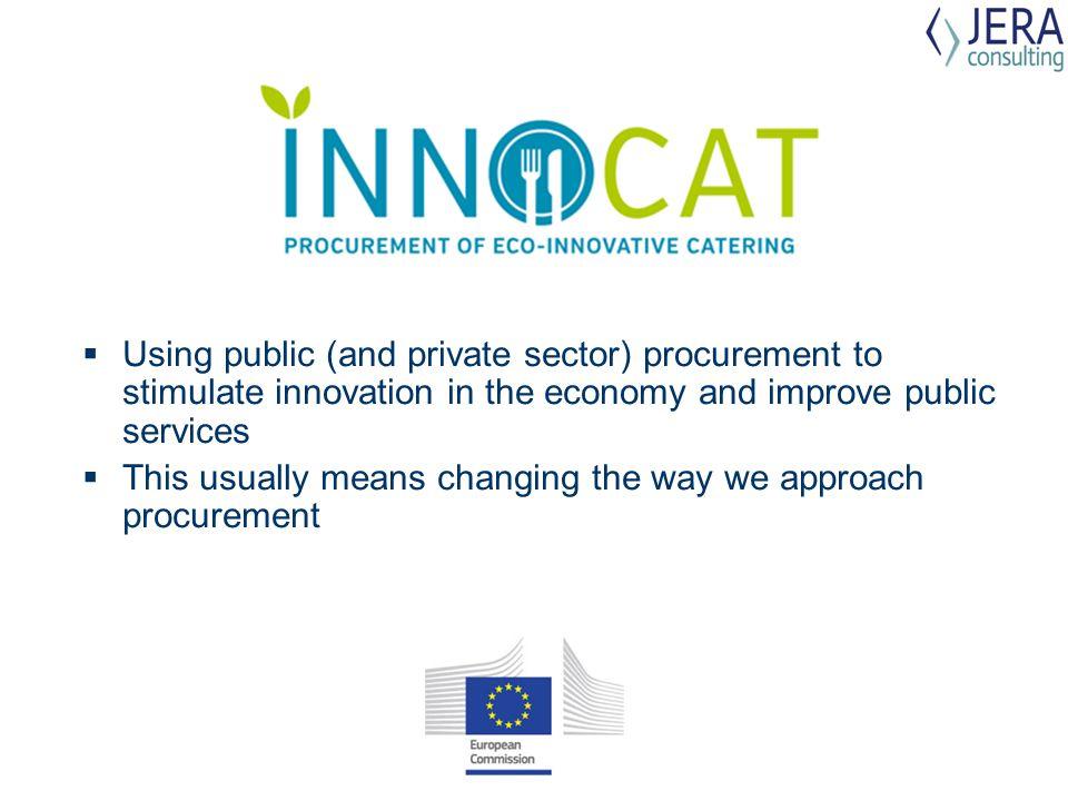  Innovation procurement.
