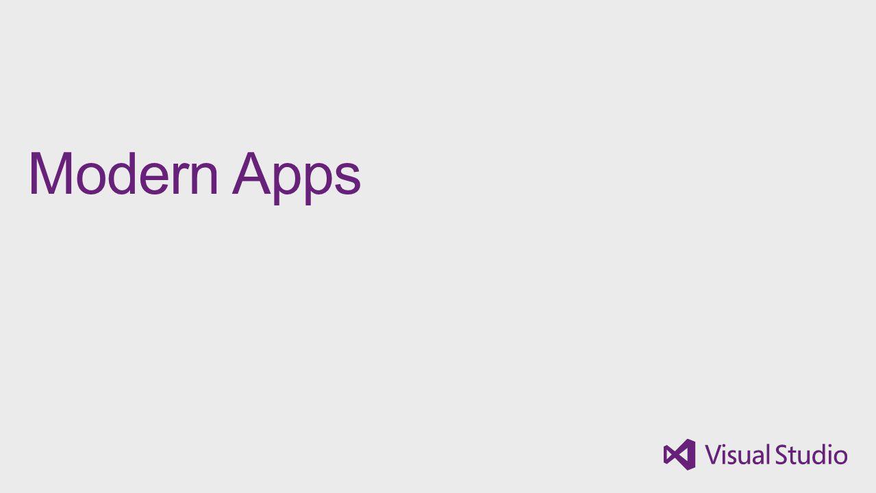 Modern Apps