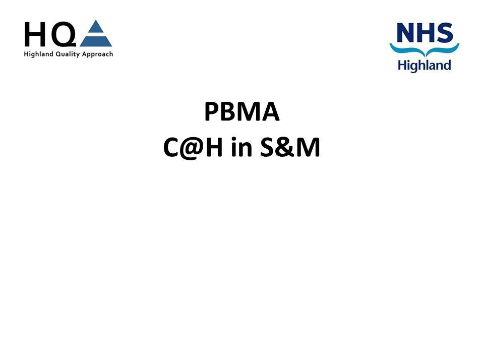 PBMA C@H in S&M