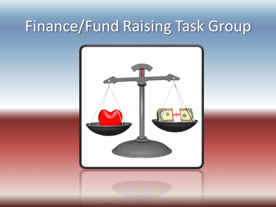 Finance/Fund Raising Task Group