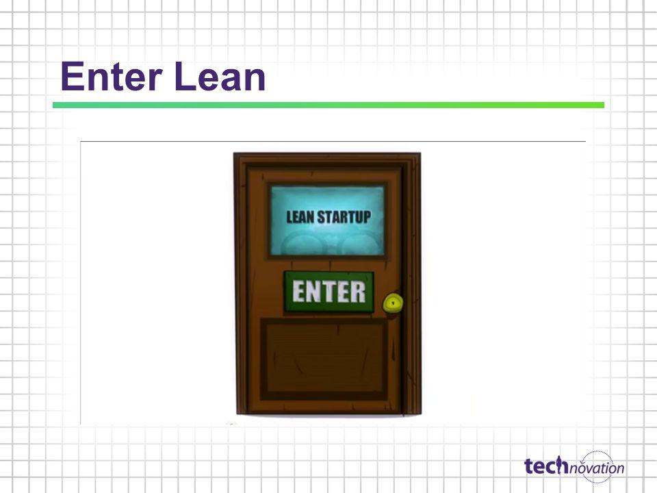 Enter Lean