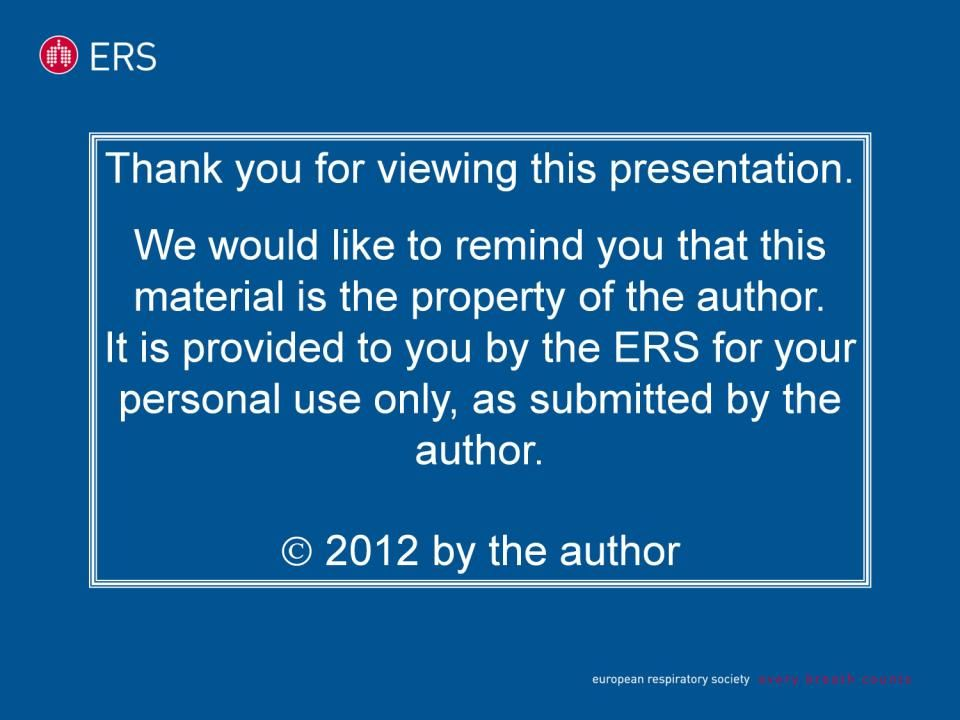 Thank you for viewing this presentation. We would like to remind you that this material is the property of the author. It is provided to you by the ER