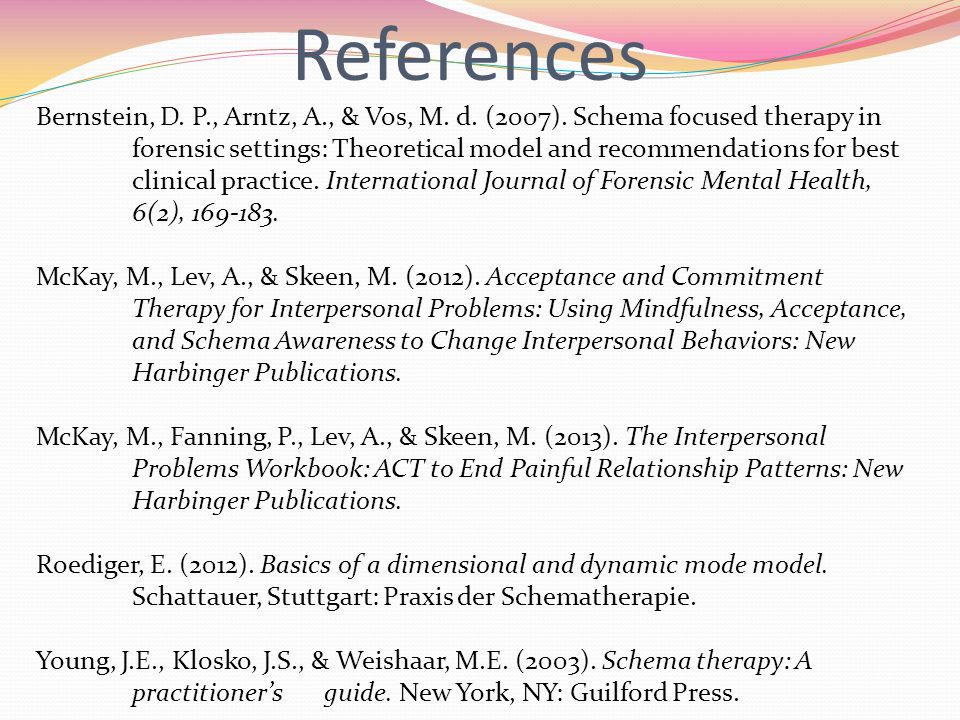 Bernstein, D.P., Arntz, A., & Vos, M. d. (2007).