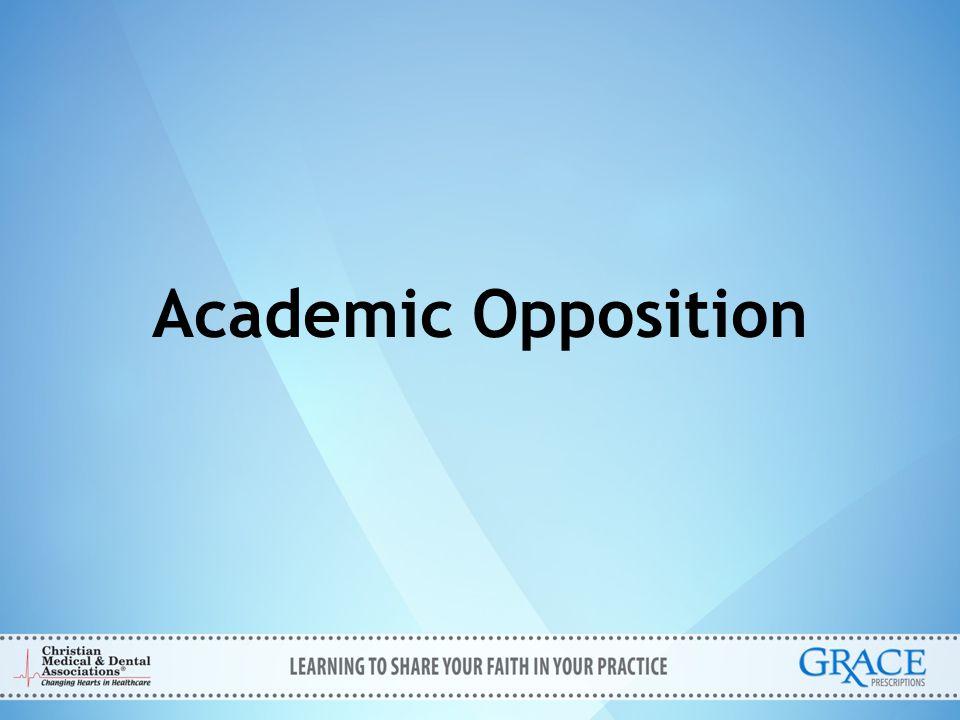 Academic Opposition