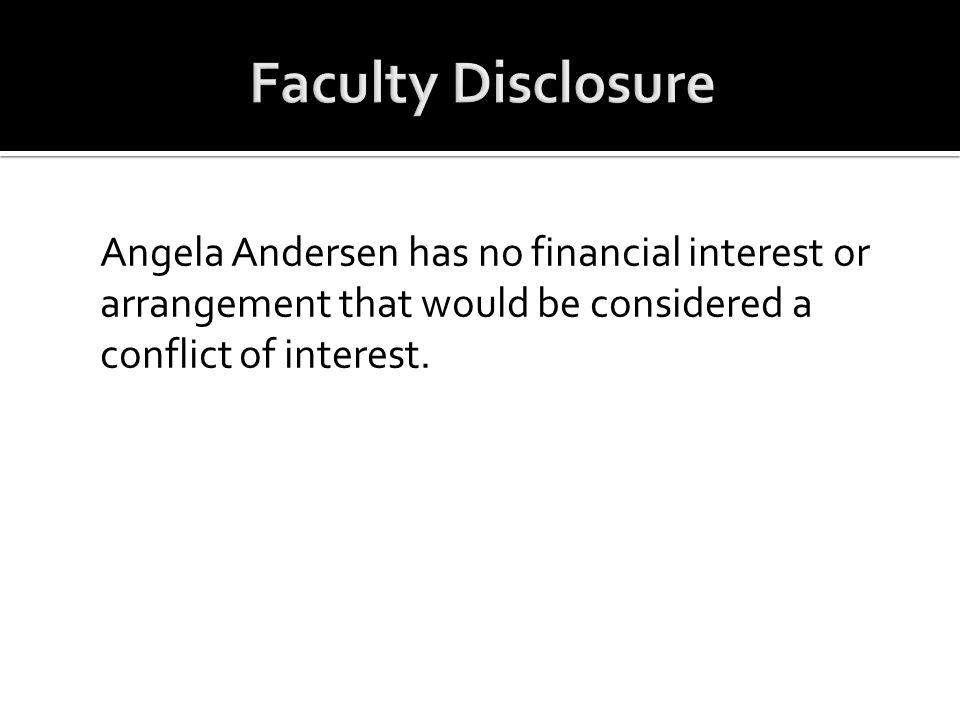  Angela Andersen, DNP, ACNP-BC, Nurse Practitioner, Palliative Care Department, The Nebraska Medical Center, Omaha, NE.