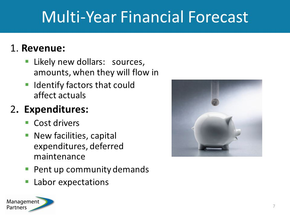 Multi-Year Financial Forecast 1.
