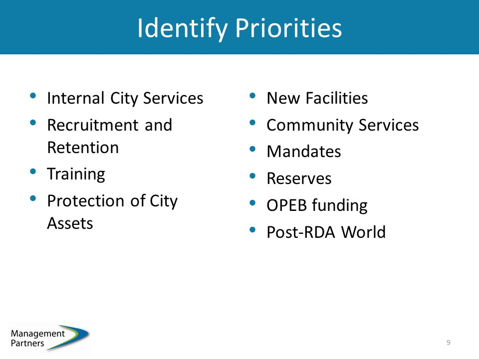 City of Fremont Very similar to Napa From famine to (something short of a) feast  Elimination of structural deficit  RDA boomerang funds coming in sooner than expected How do we ensure we don't go back to the old way of doing business.