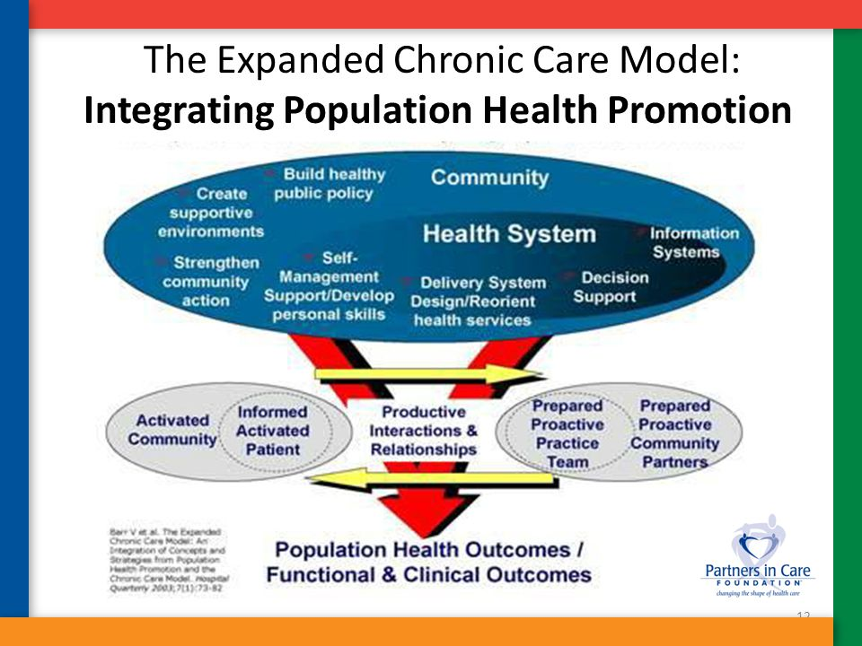 12 The Expanded Chronic Care Model: Integrating Population Health Promotion