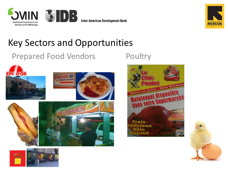 Key Sectors and Opportunities Dairy Fish