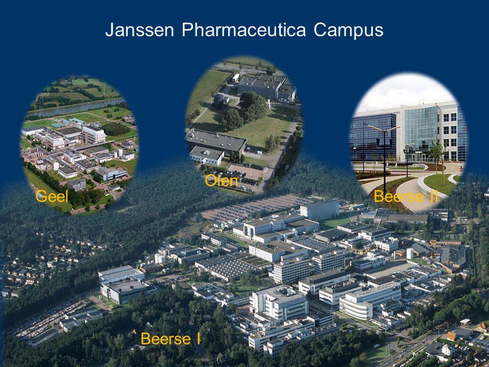 Janssen Pharmaceutica Campus Beerse I Beerse II Olen Geel