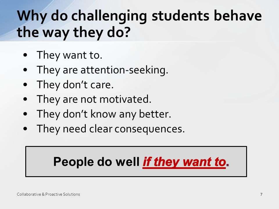 Empathy 2.Define the Problem 3.Invitation 48 Collaborative & Proactive Solutions