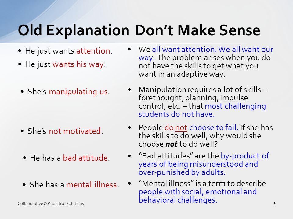 Plan A greatly heightens the likelihood of challenging behavior in challenging students.