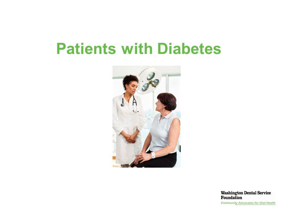 Presentation Title | Section | 37 Patients with Diabetes
