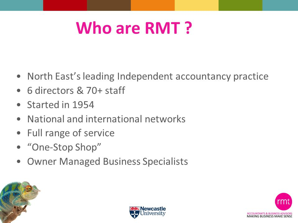 Who are RMT .
