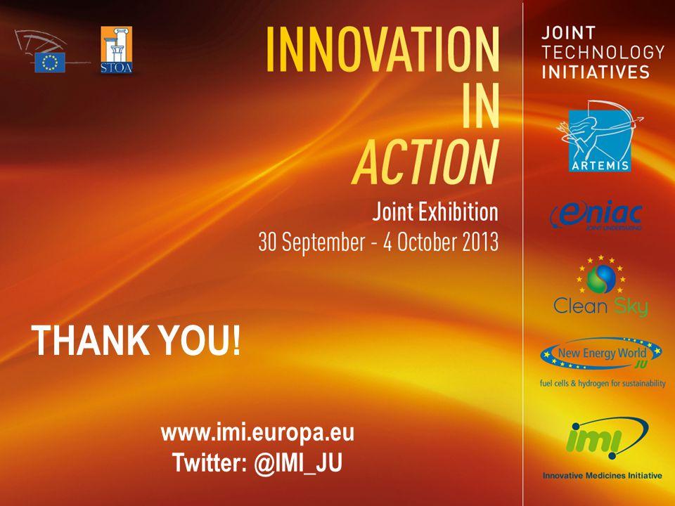 www.imi.europa.eu Twitter: @IMI_JU THANK YOU!