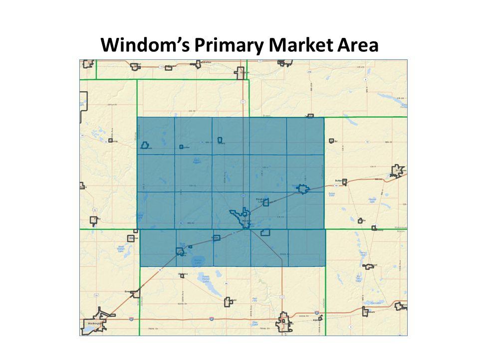 Windom's Primary Market Area