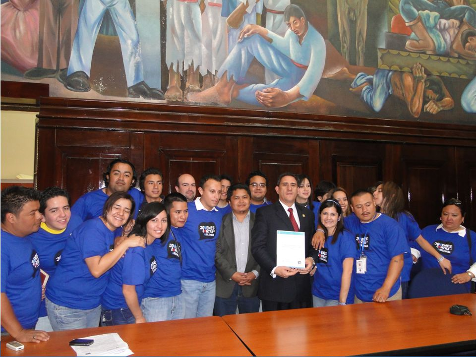 The Creative-implemented AJR USAID/SICA project seeks to reduce youth gang activity in Central America.