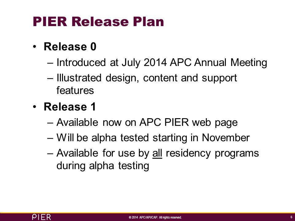 © 2014 APC/API/CAP.All rights reserved.