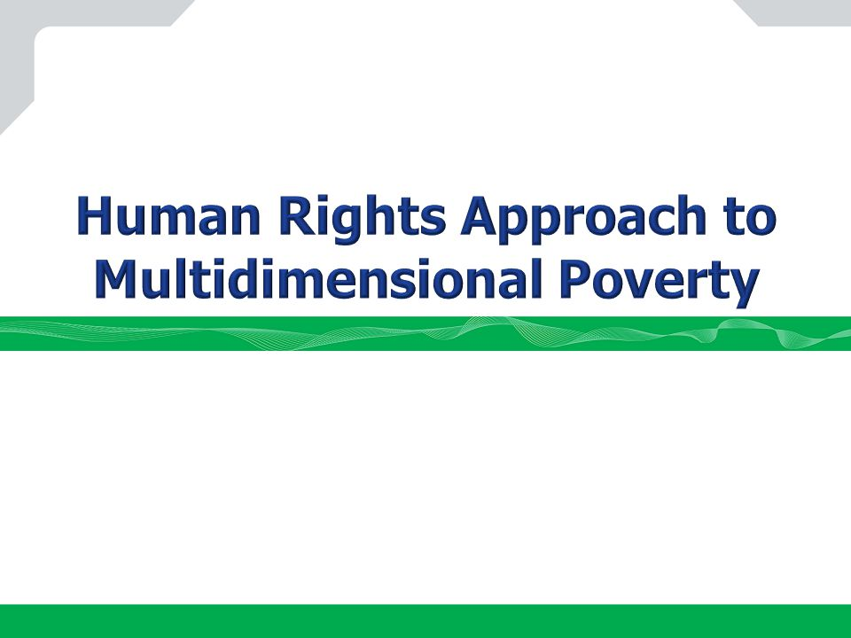 Social Rights Deprivations Aggregation: Depth & intensity of poverty EWL Sin 0 3 5 2 4 1 6 1.3 5.7 Average number of deprivations