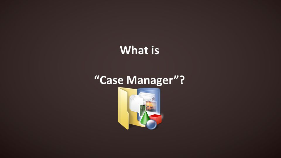 What is Case Manager