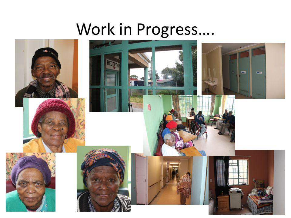 Work in Progress….