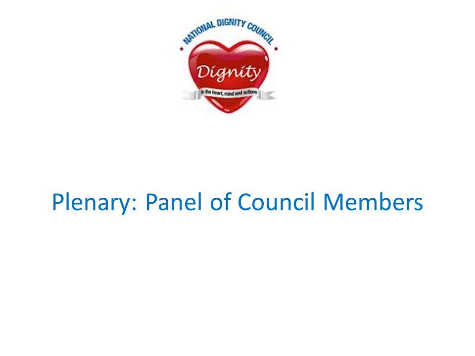 Plenary: Panel of Council Members