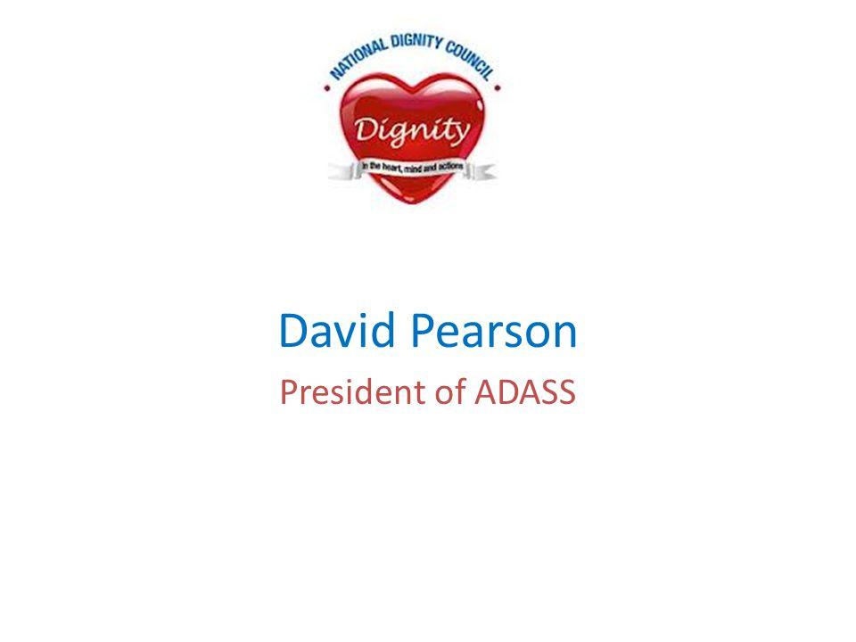 David Pearson President of ADASS