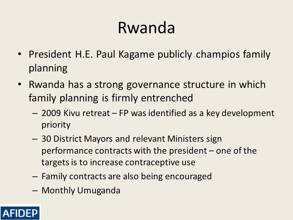 Rwanda President H.E.
