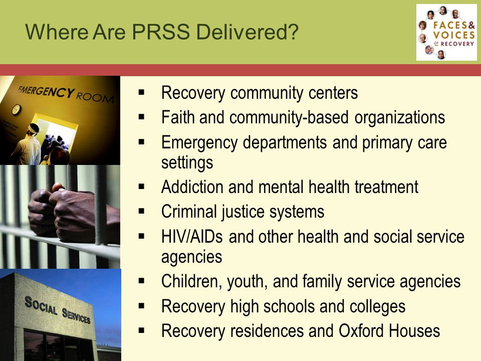 Where Are PRSS Delivered.