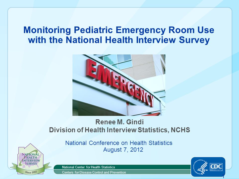 2 Outline  Pediatric emergency room (ER) use and the Affordable Care Act (ACA)  Determinants of pediatric ER use  Using NHIS to examine associations with pediatric ER use  Summary and next steps