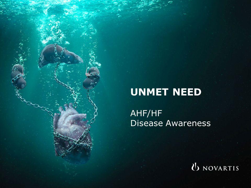 UNMET NEED AHF/HF Disease Awareness