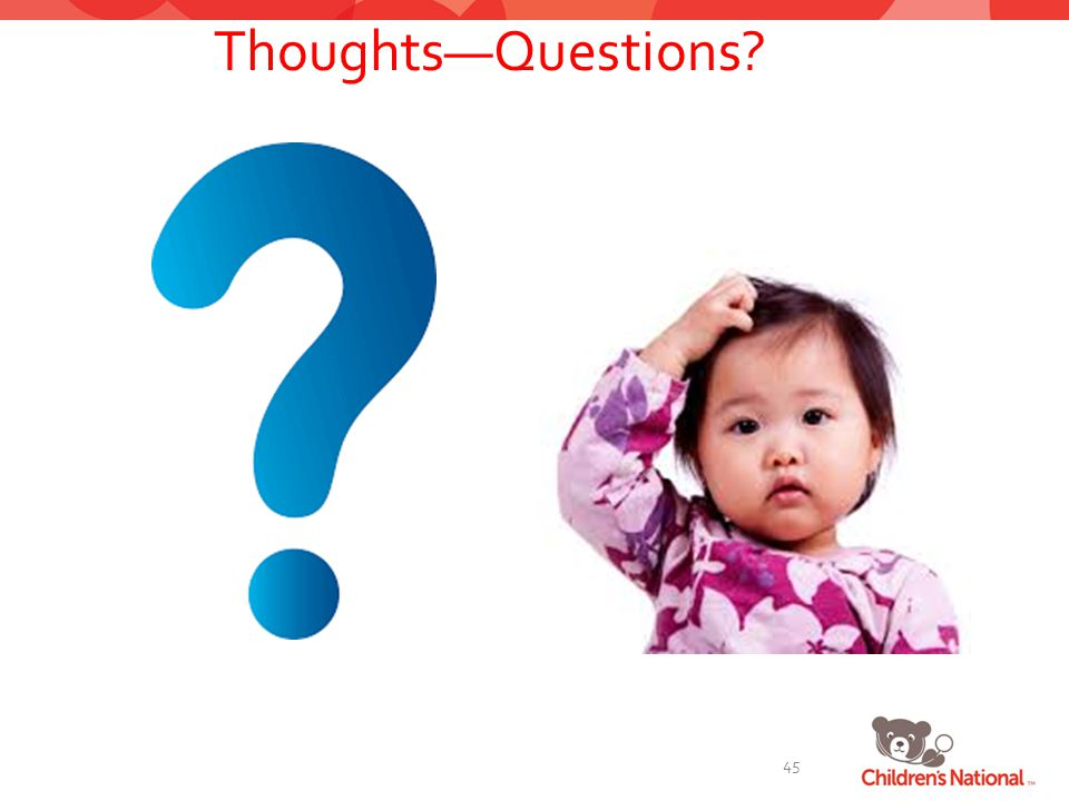 Thoughts—Questions 45