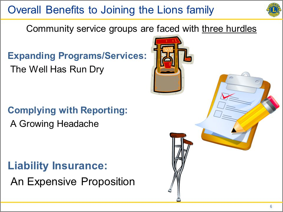 7 What Nonprofits Can Form a Lions Club.Community Service Orgs.