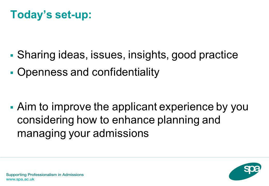 Forecast and Reflections on 2015 HEFCE Annual Meeting 16 October 2014 - four main areas of regulation, most relevant to admissions  Student protection - consumer protection - includes applicants to HE  Quality assurance o Importance of Chapter B2, Quality Code.