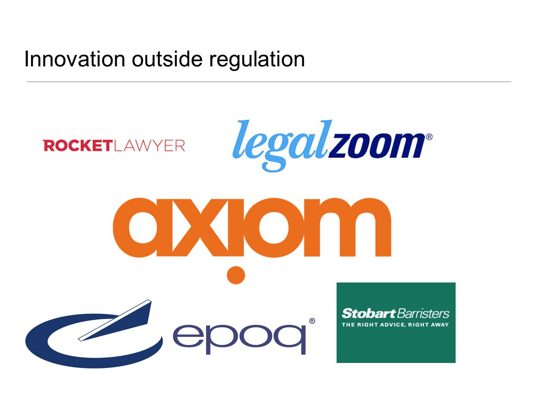Innovation outside regulation