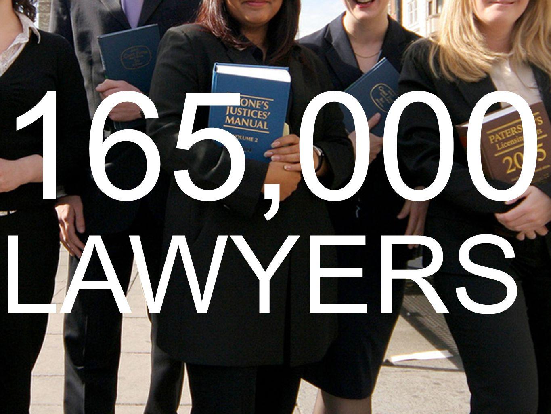 165,000 LAWYERS