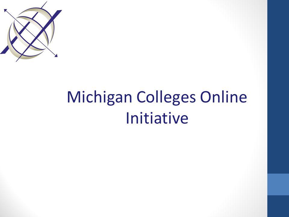 Michigan Colleges Online Initiative