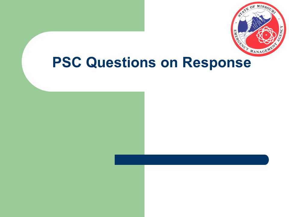 PSC Questions on Response