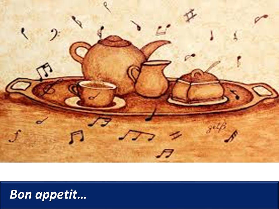Bon appetit…