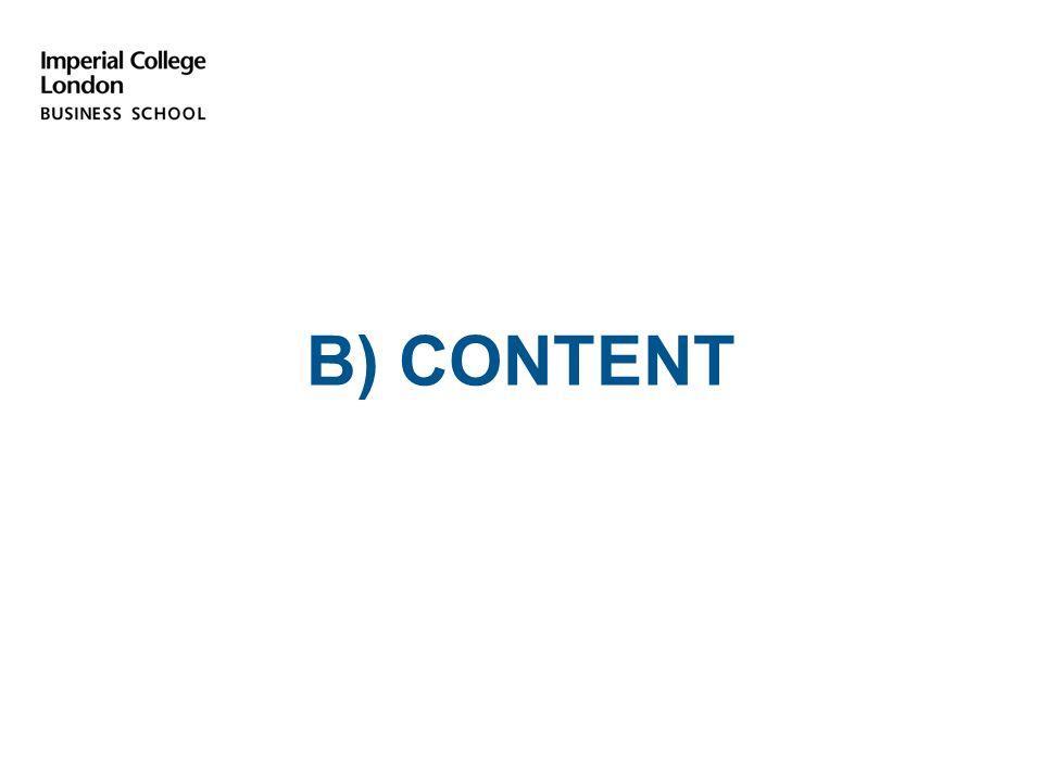 B) CONTENT