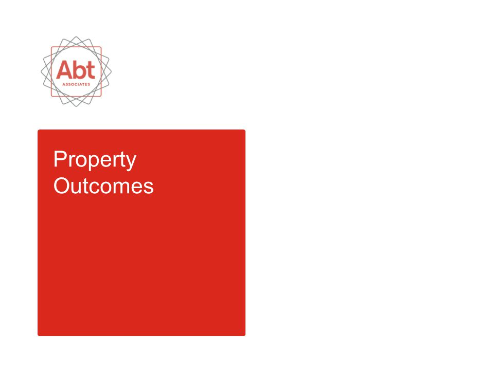 Property Outcomes