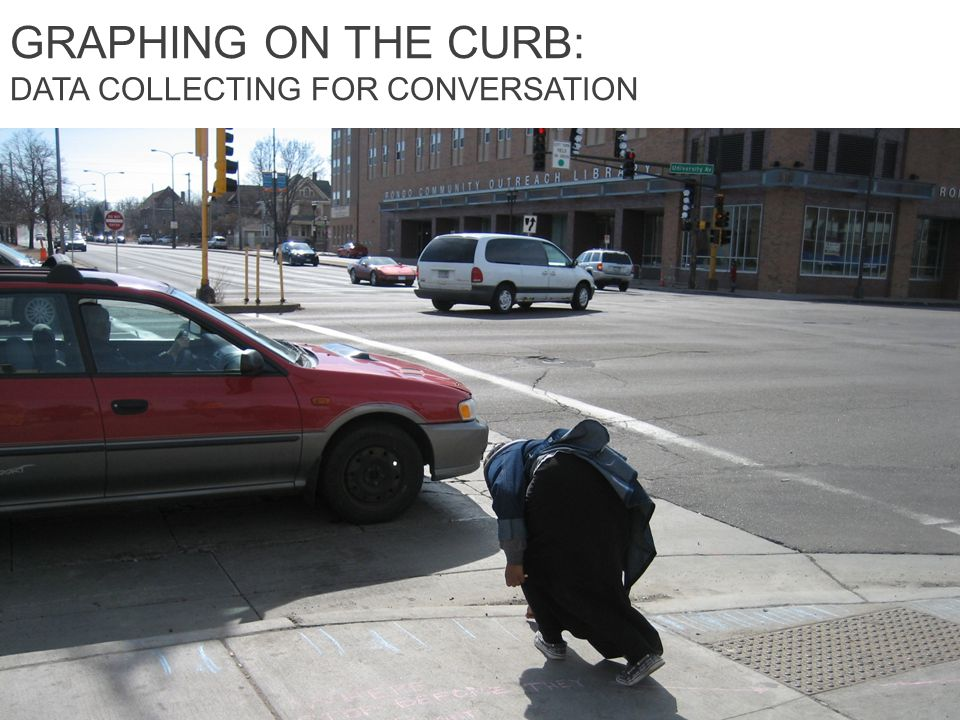GRAPHING ON THE CURB: DATA COLLECTING FOR CONVERSATION