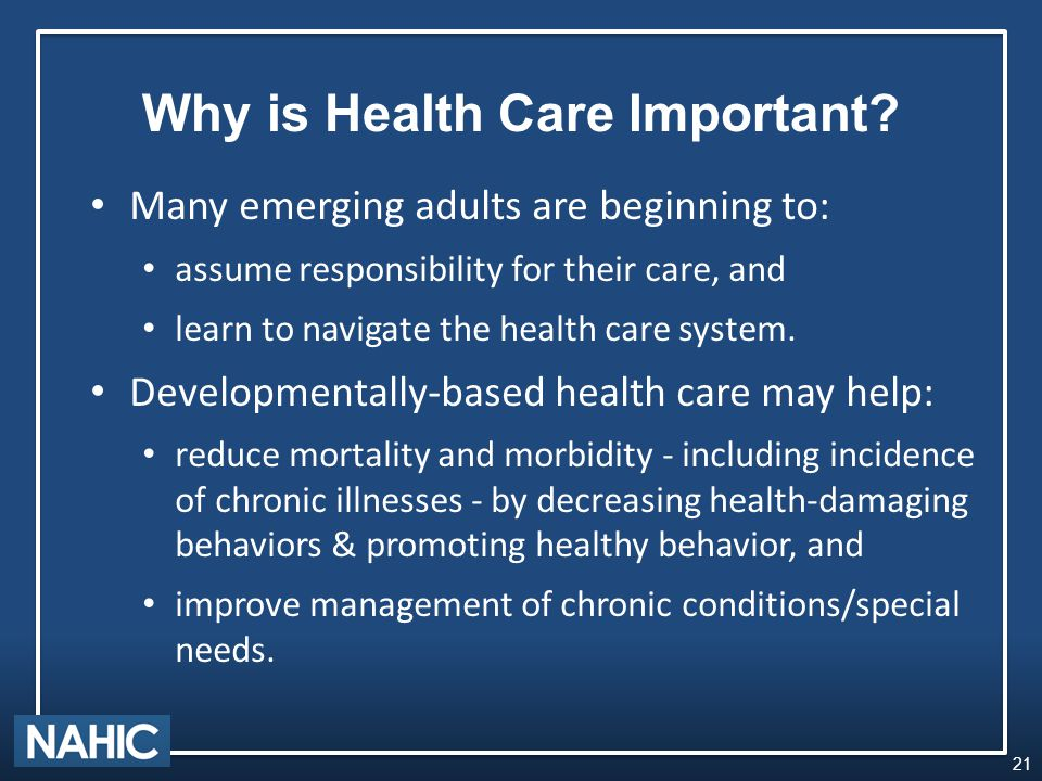 Why is Health Care Important.