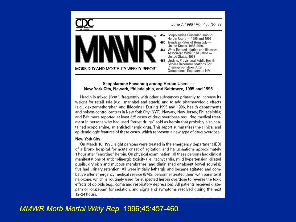 MMWR Morb Mortal Wkly Rep. 1996;45:457-460.