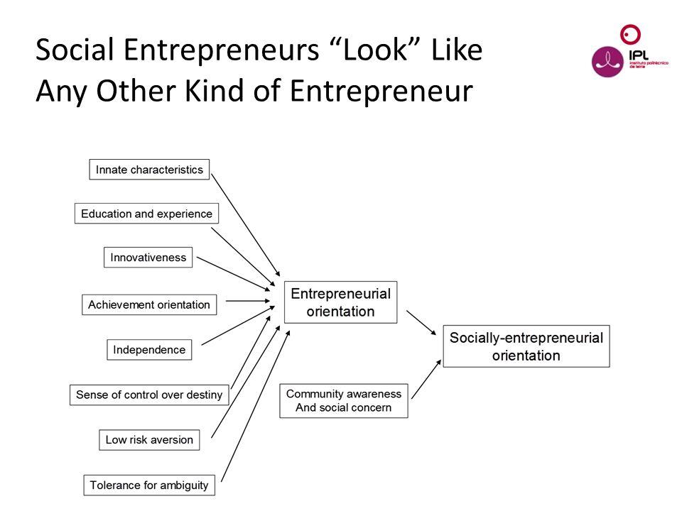 "Dream > Believe > Pursue Social Entrepreneurs ""Look"" Like Any Other Kind of Entrepreneur"