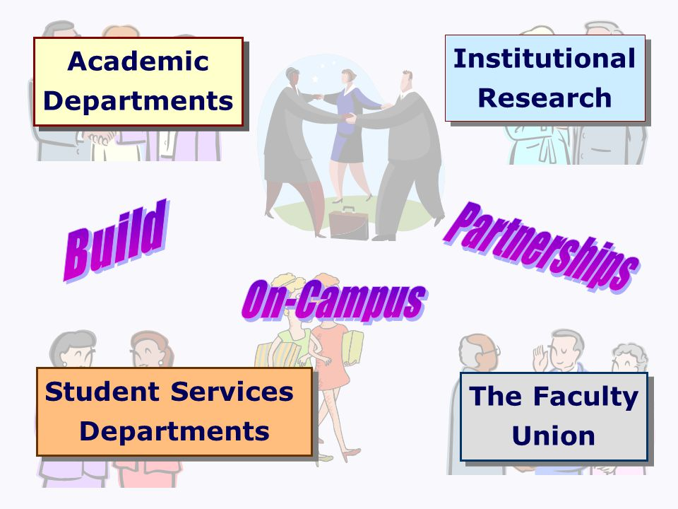 Academic Departments Academic Departments The Faculty Union The Faculty Union Institutional Research Institutional Research Student Services Departmen